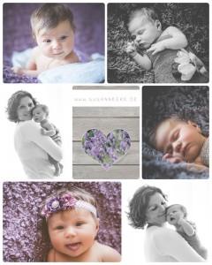 Fotografin Oranienburg Oranienwerk Neugeborenenfotografie Babyfotografie Haarband lila rosa Schlafmaus Mami Tulpen Blumen  Kopie